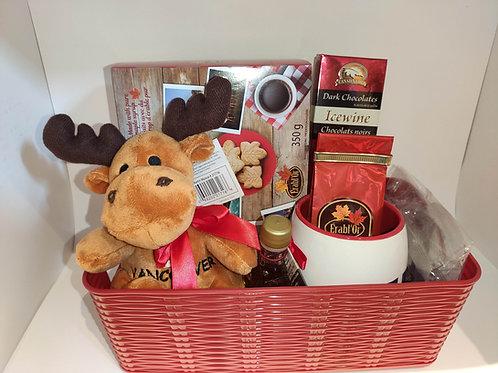 Taste of Canada Gift Basket 1
