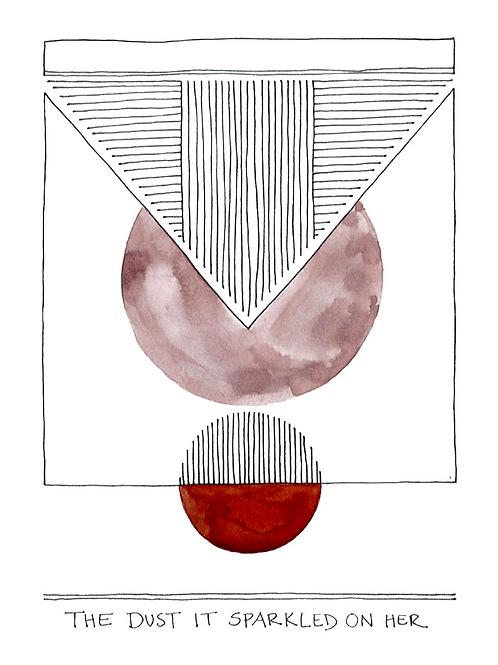 the dust / print