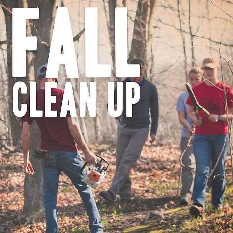 2019 Event-Retreat SquaresFall Clean Up.