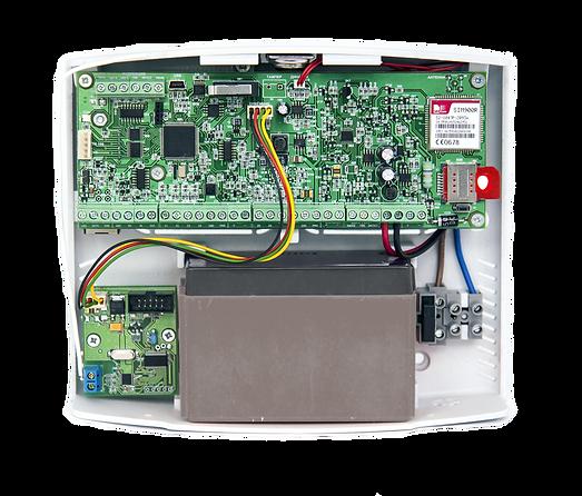 Беспроводная контрольная панель со встро