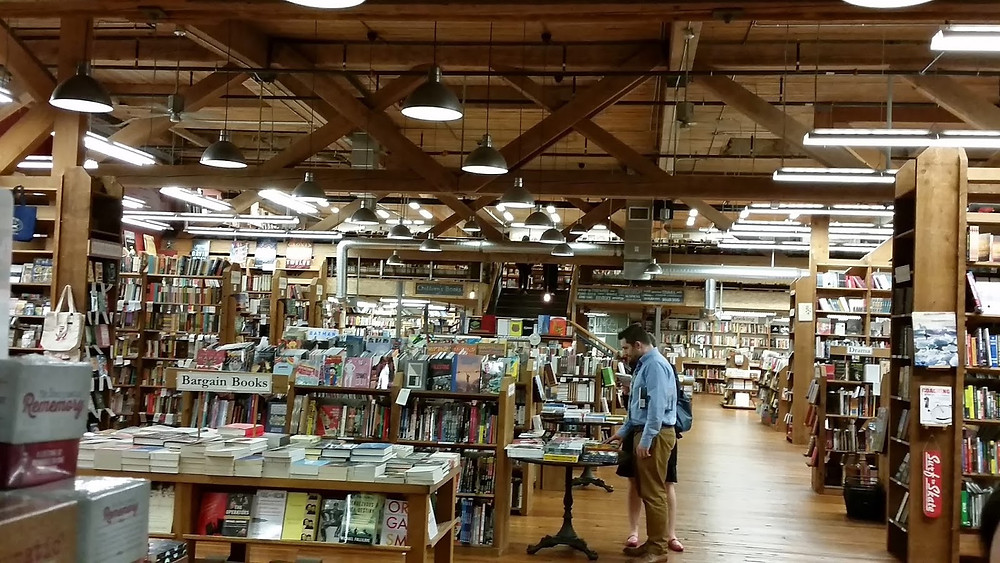 Elliott Bay Book Co Seattle inside