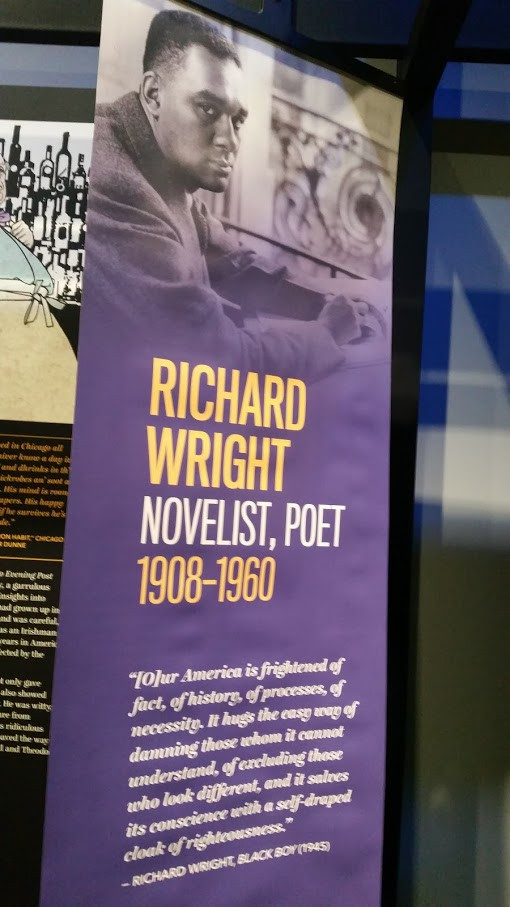 """""""[O]ur America is frightened of fact, of history, of processes, of necessity. It hugs the easy way of damning those whom it cannot understand, of excluding those who look different, and it salves its conscience with a self-draped cloak of righteousness."""" - Richard Wright, Black Boy (1945)"""