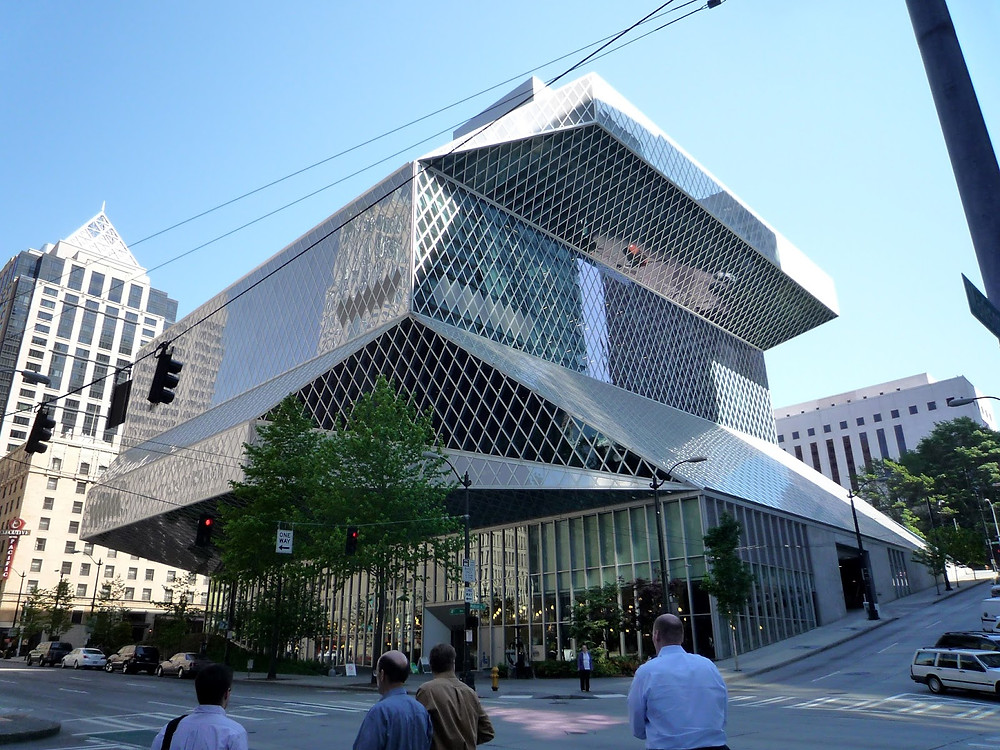 Seattle Central Library photo by bobak ha'eri