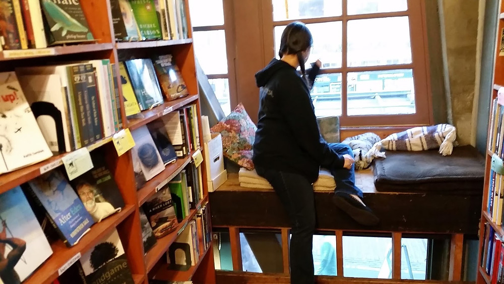 Left Bank Books Reading Nook