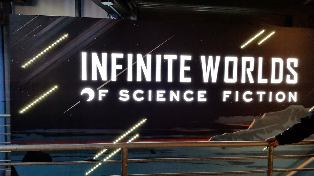 Infinite Worlds of Science Fiction Exhibit Experience Music Project Museum of Pop Culture