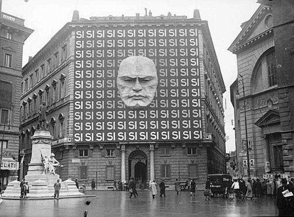 Fascist Party Federation in Rome, 1934