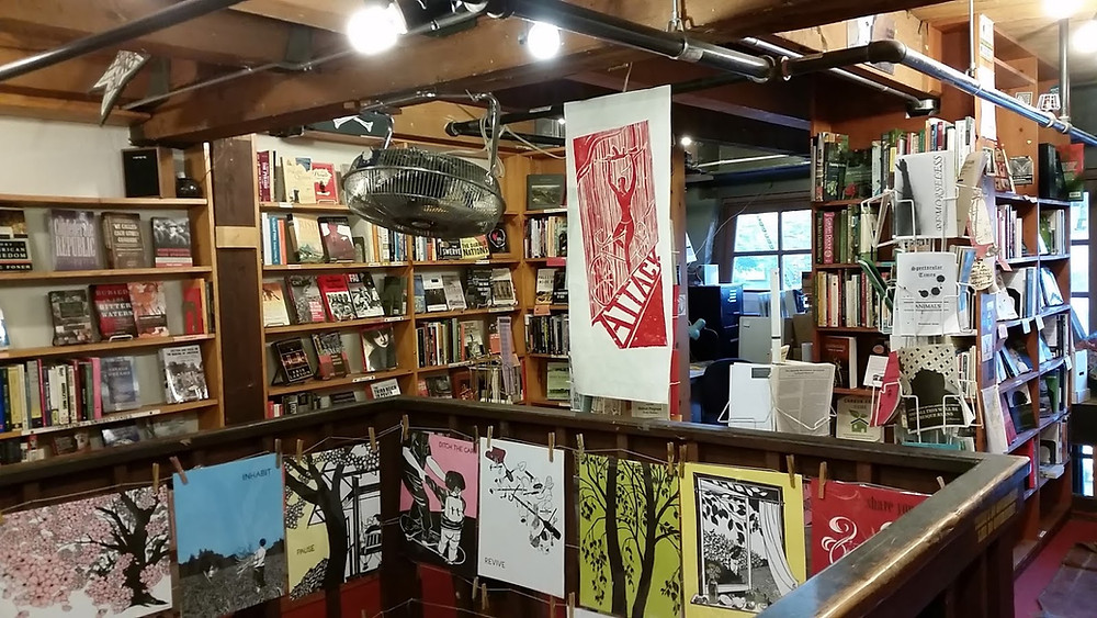 Left Bank Books Upstairs