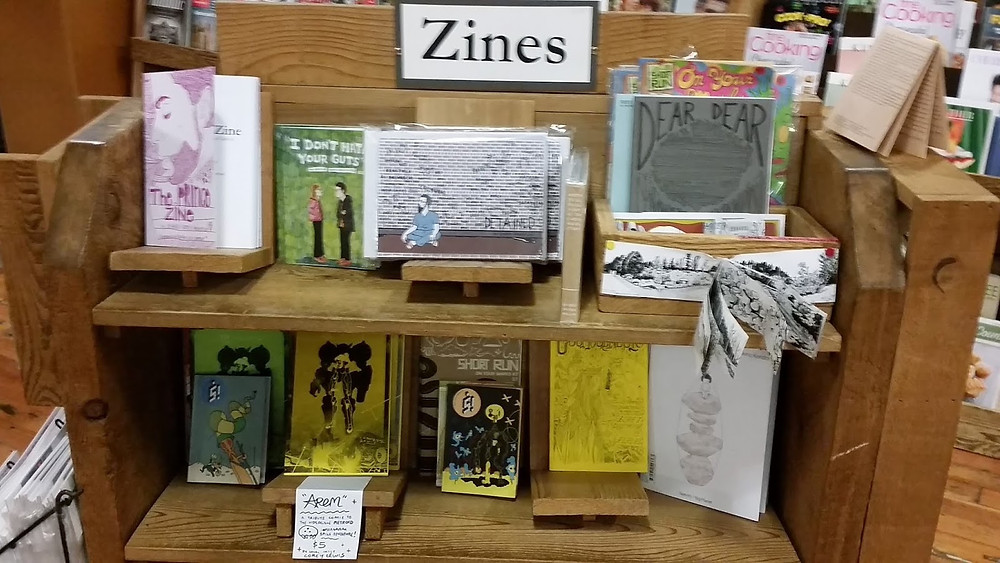 Elliott Bay Book Co Seattle zines collection