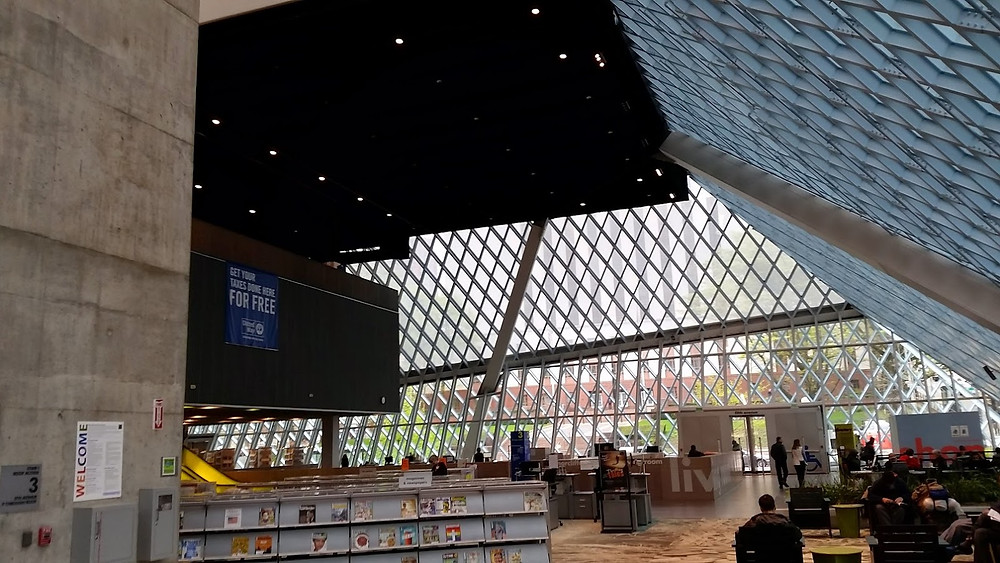 Seattle Central Library inside