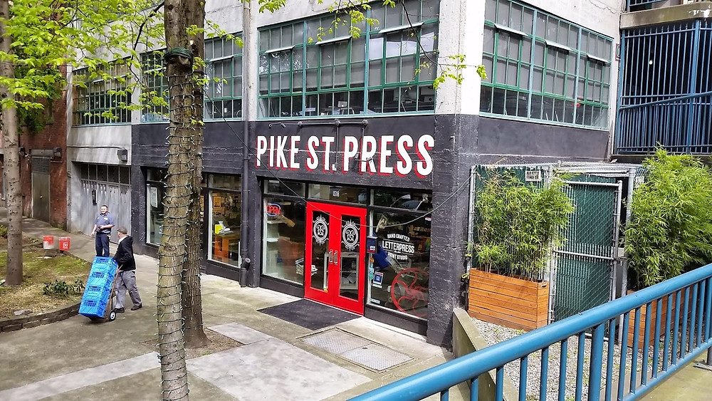 Pike Street Press Seattle