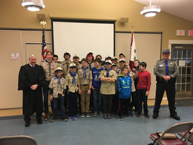Scouts Get Presentations From Government Employees