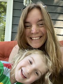 Me and my mini me, my daughter