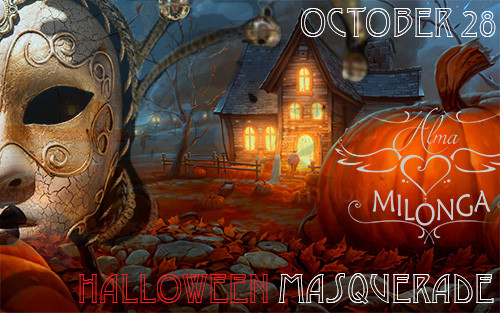Alma Milonga - Halloween Masquerade