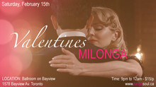 Valentine's Milonga Party Potluck