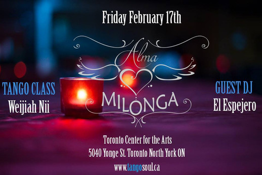Alma Milonga - February 17th