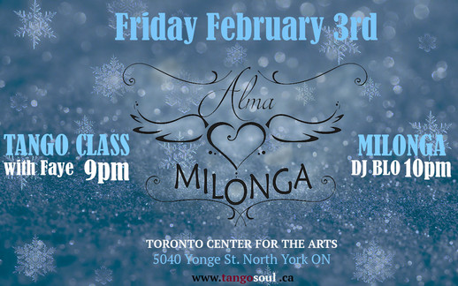 Alma Milonga - February 3th
