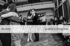 In every embrace a story is being told    EN CADA ABRAZO HAY UNA HISTORIA