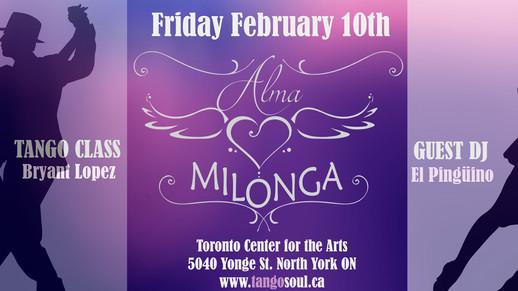 Alma Milonga - February 10th