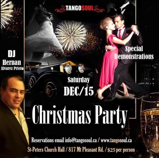 Tango Soul Christmas Party