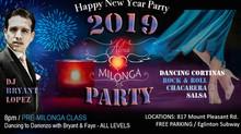 Alma Milonga 2019 New Year Party!