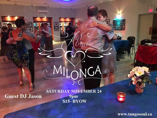 Alma Milonga - November 24th