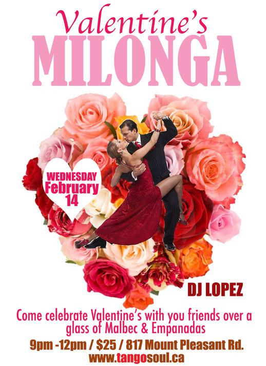 Valentine's Milonga