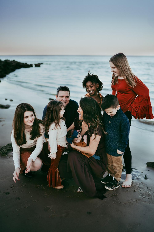 Big Talbot Island Family Photography Session Sara L Price Photography