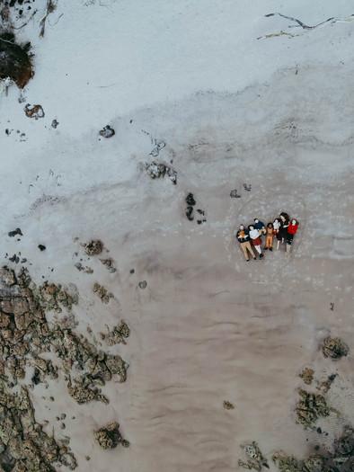 drone family photos talbot island