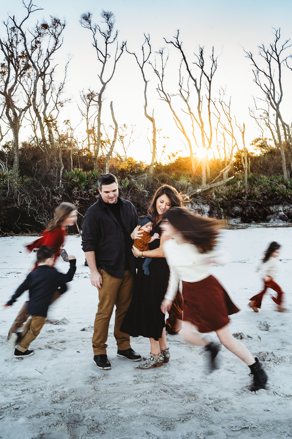 Talbot Island Family Photography Session Sara L Price Photography