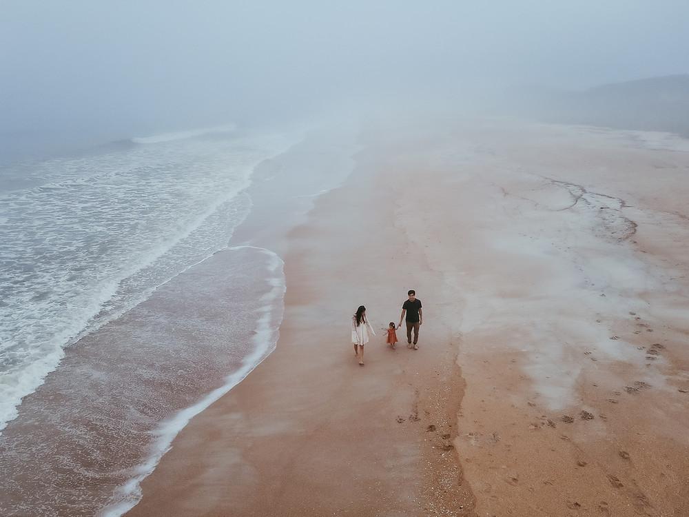 Unique Jacksonville Beach Family Photo Ideas | Sara L Price Photography