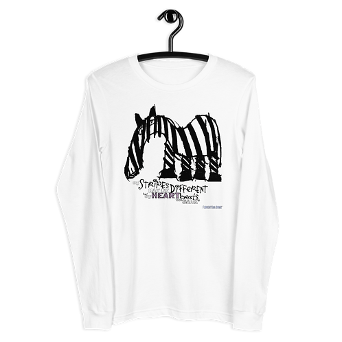 Fancy Stripes Unisex Long Sleeve Tee