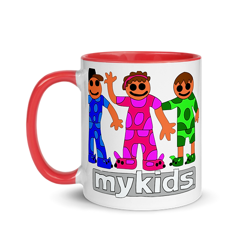 Pajama Kids Mug with Color Inside