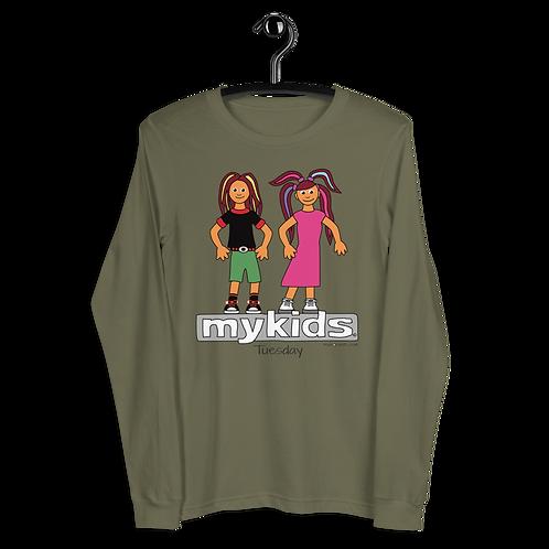 MyKids Unite Tuesday Unisex Long Sleeve Tee
