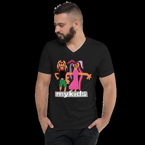 MyKids Friends Tuesday Unisex Short Sleeve V-Neck T-Shirt