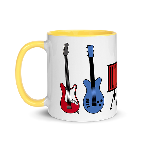 Rockin MyKids Instruments Mug with Color Inside