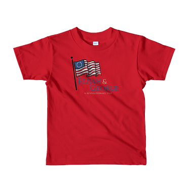 Unisex Kids TShirt-E&G Logo with Flag