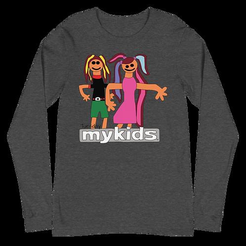 MyKids Friends Tuesday Unisex Long Sleeve Tee