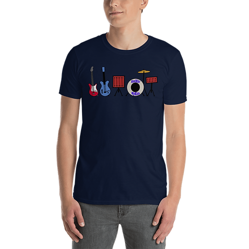 Rockin MyKids Instruments Short-Sleeve Unisex T-Shirt