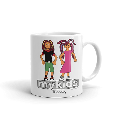 MyKids Unite Tuesday Mug