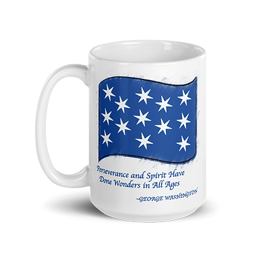 George Washington Flag Mug
