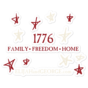 1776 stickers