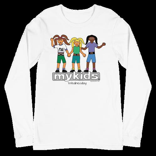 MyKids Unite Wednesday Unisex Long Sleeve Tee
