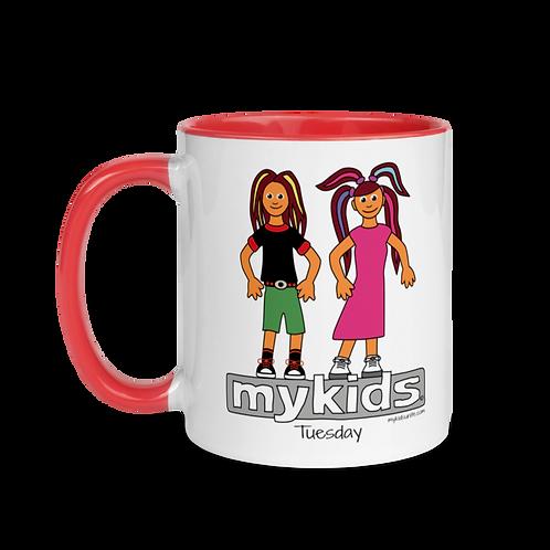 MyKids Unite Tuesday Mug with Color Inside