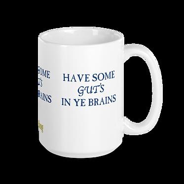 Guts Brains Mug