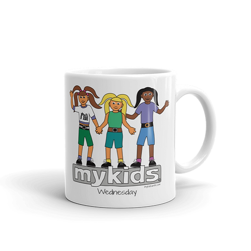 MyKids Unite Wednesday Mug