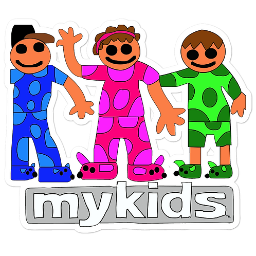 Pajama Kids Bubble-free stickers
