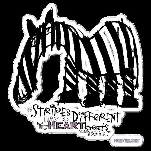 Fancy Stripes Bubble-free stickers