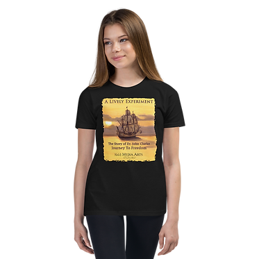 Colonial Ship Youth Unisex T-Shirt