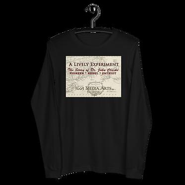 Colonial Map Unisex Long Sleeve Tee