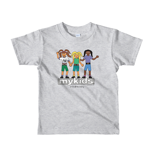 MyKids Unite Wednesday Short sleeve kids t-shirt